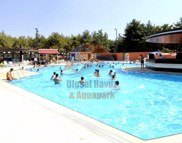 Gaziantep / TÜRKİYE - Burçpark Yüzme Havuzlar