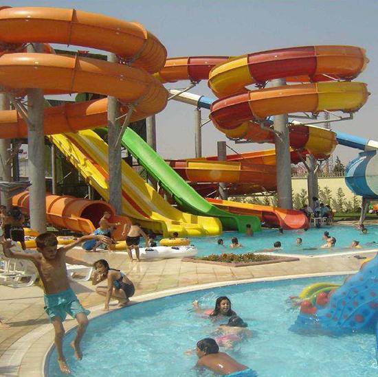 Büyük Ölçekli Aquapark